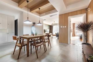 北欧风格三居餐厅每日首存送20