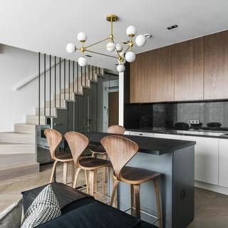 复式北欧风公寓装修效果图