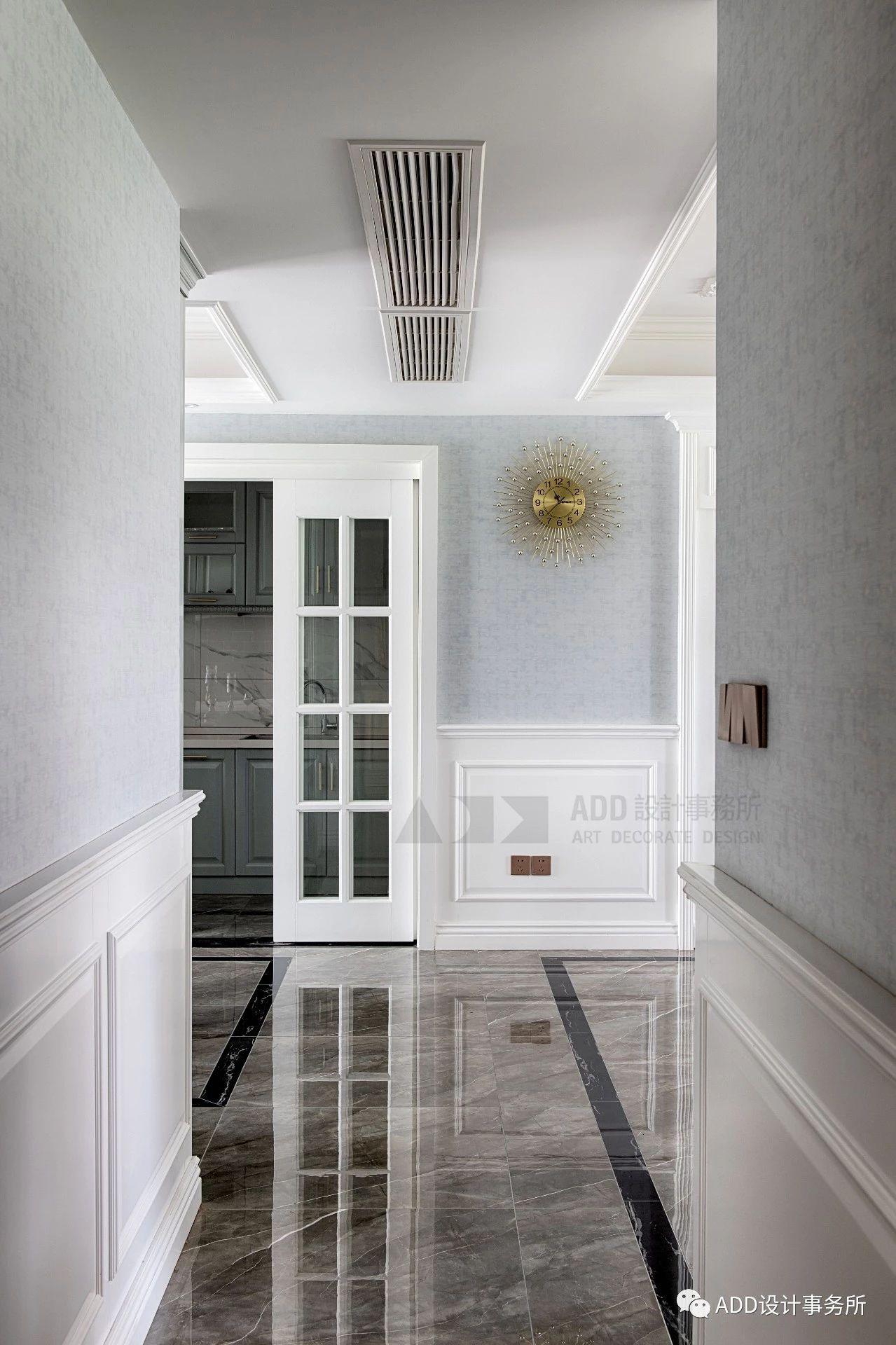 法式风格四居室过道装修效果图