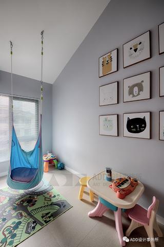 120㎡简约现代儿童房装修效果图