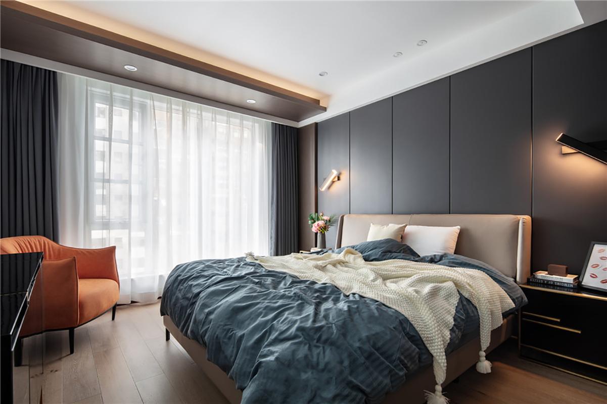125平现代风卧室装修效果图