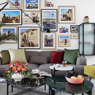 混搭风格二居室装修效果图