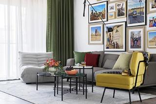 混搭風格二居室客廳裝修效果圖