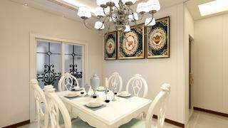 欧式风格两居餐厅每日首存送20