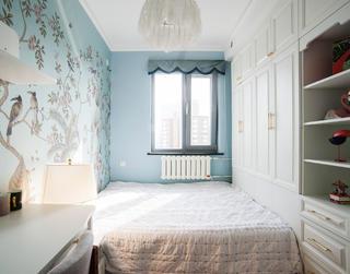60平轻奢风两居卧室装修效果图