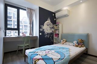 120㎡现代简约儿童房装修效果图