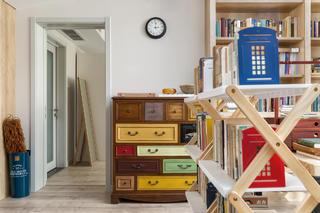 复式现代美式风格装修抽屉柜设计
