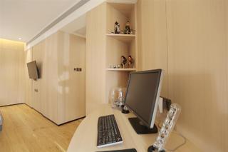 现代风格三居装修工作台设计