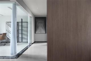 现代简约三居室走廊装修效果图