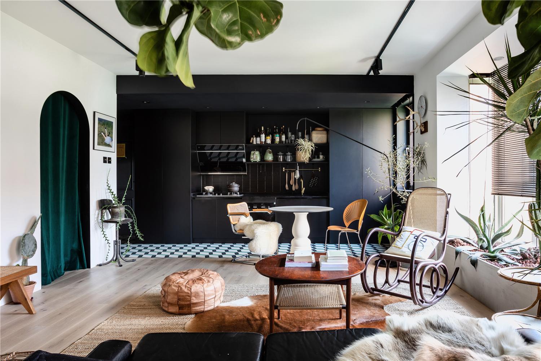 63平米一居室客厅装修效果图