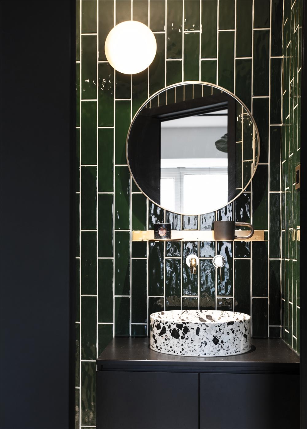 63平米一居室装修洗手台设计