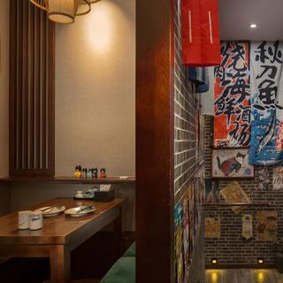 日式居酒屋装修效果图