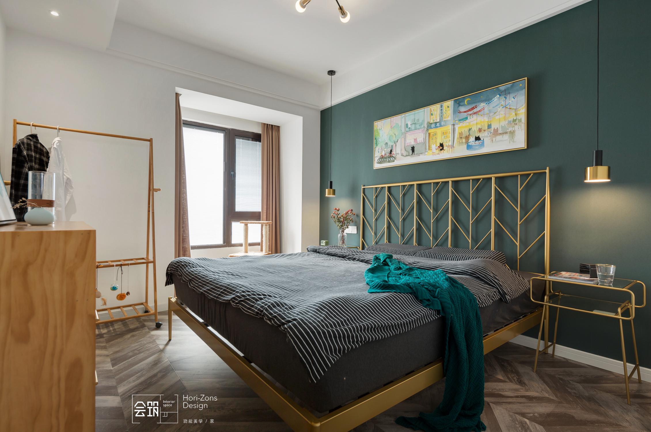 78平米两居卧室装修效果图