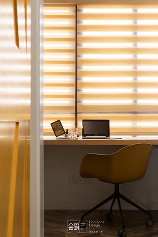 78平米两居室装修百叶窗设计