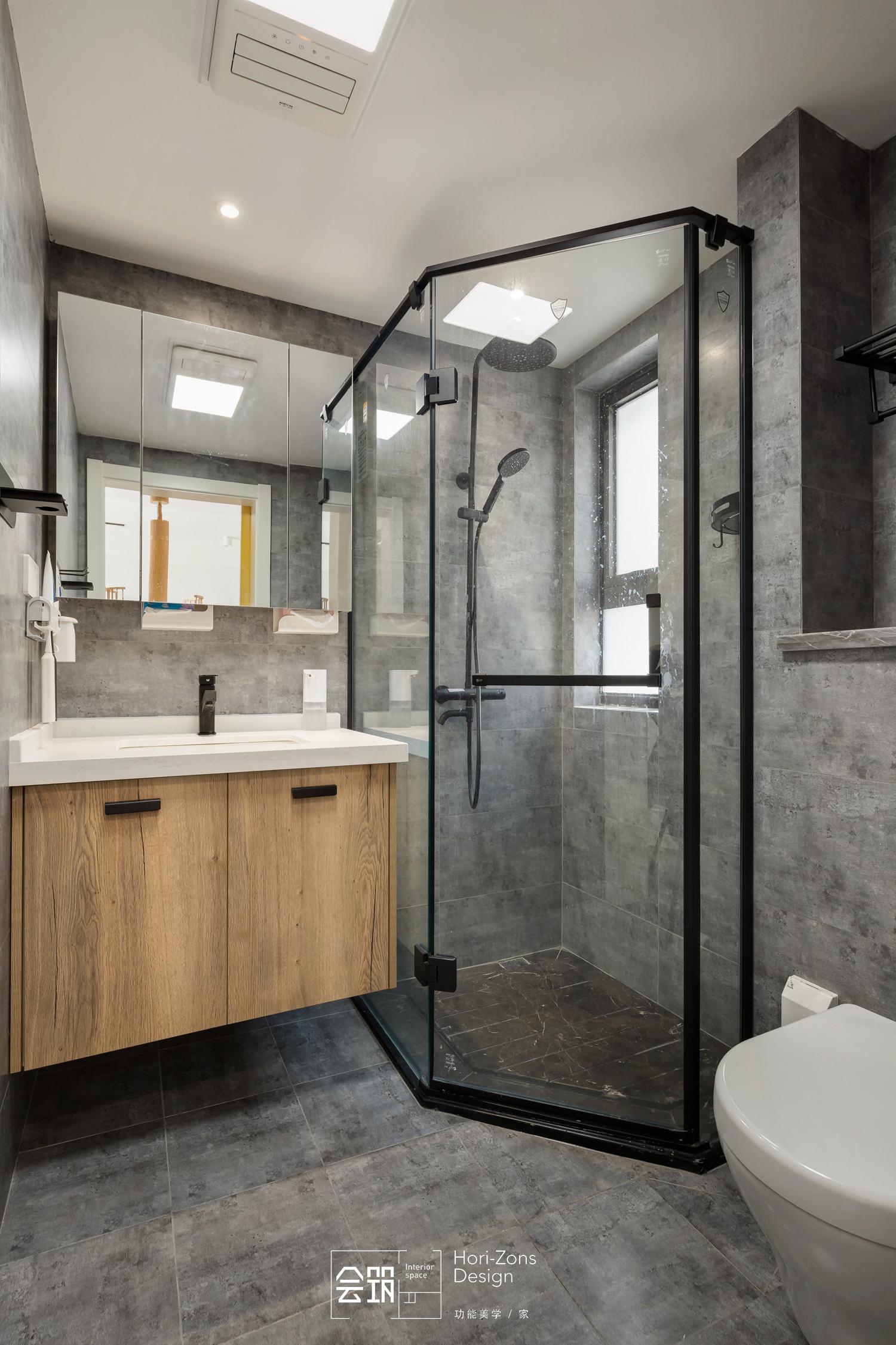 78平米两居室卫生间装修效果图