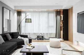 现代风三居室客厅装修效果图