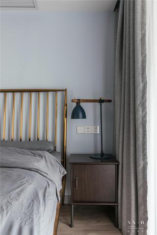 95㎡现代北欧风装修床头柜设计