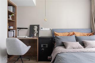 现代简约风格别墅卧室装修设计图