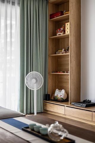 116㎡日式北欧风装修隔板柜设计