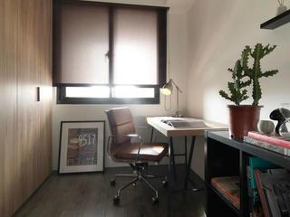 现代简约风两居书房装修效果图