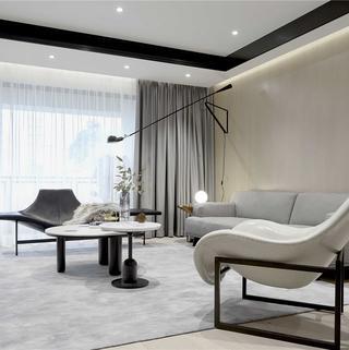 136㎡现代两居装修效果图