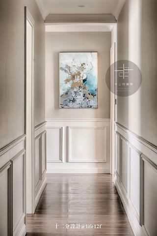 150平美式风格走廊装修效果图