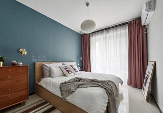 80平北欧风卧室装修效果图