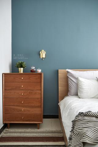 80平北欧风装修卧室斗柜设计