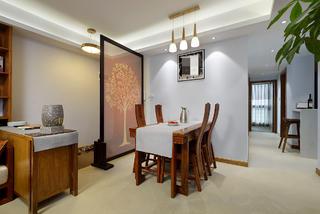 中式风格三居餐厅每日首存送20