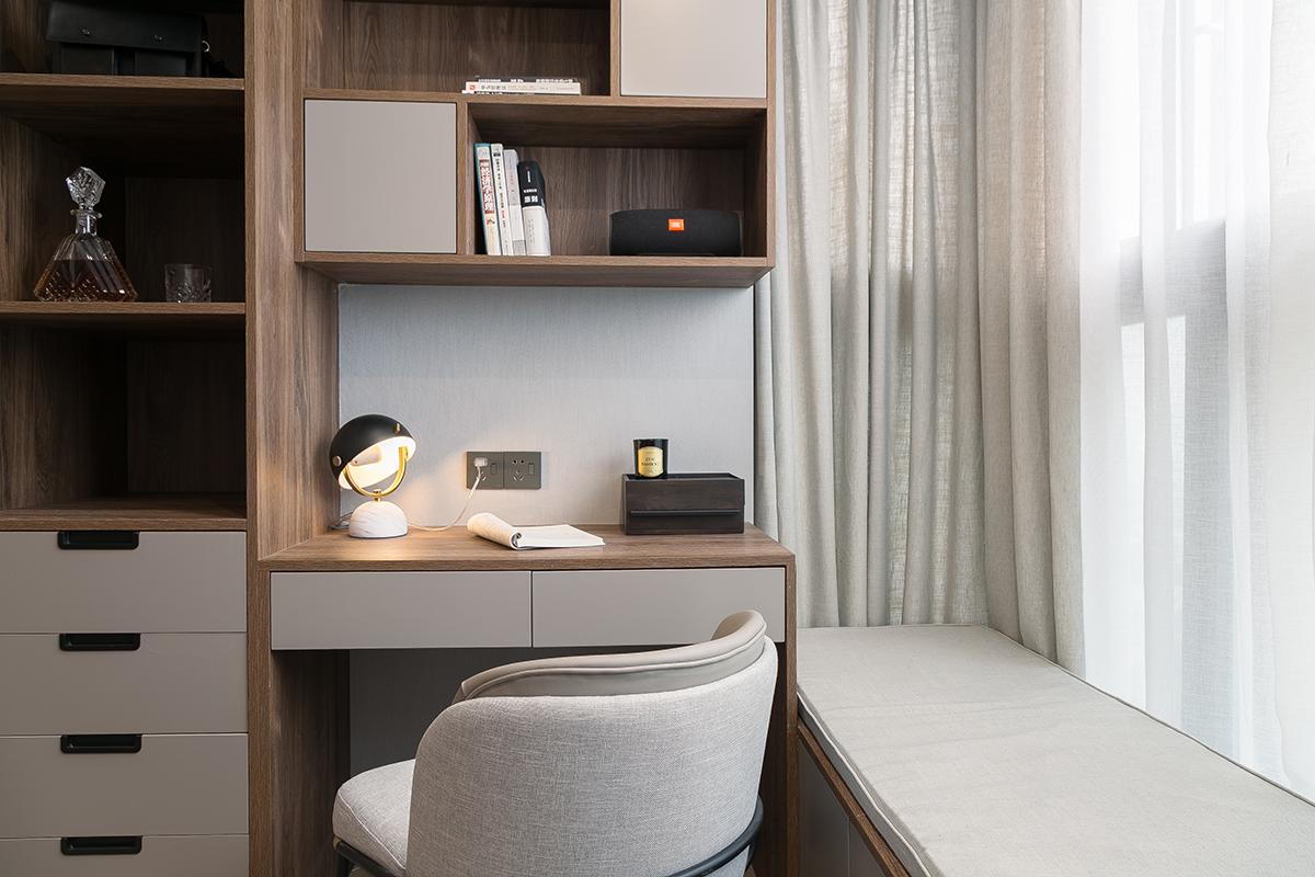 现代简约两居书房装修效果图