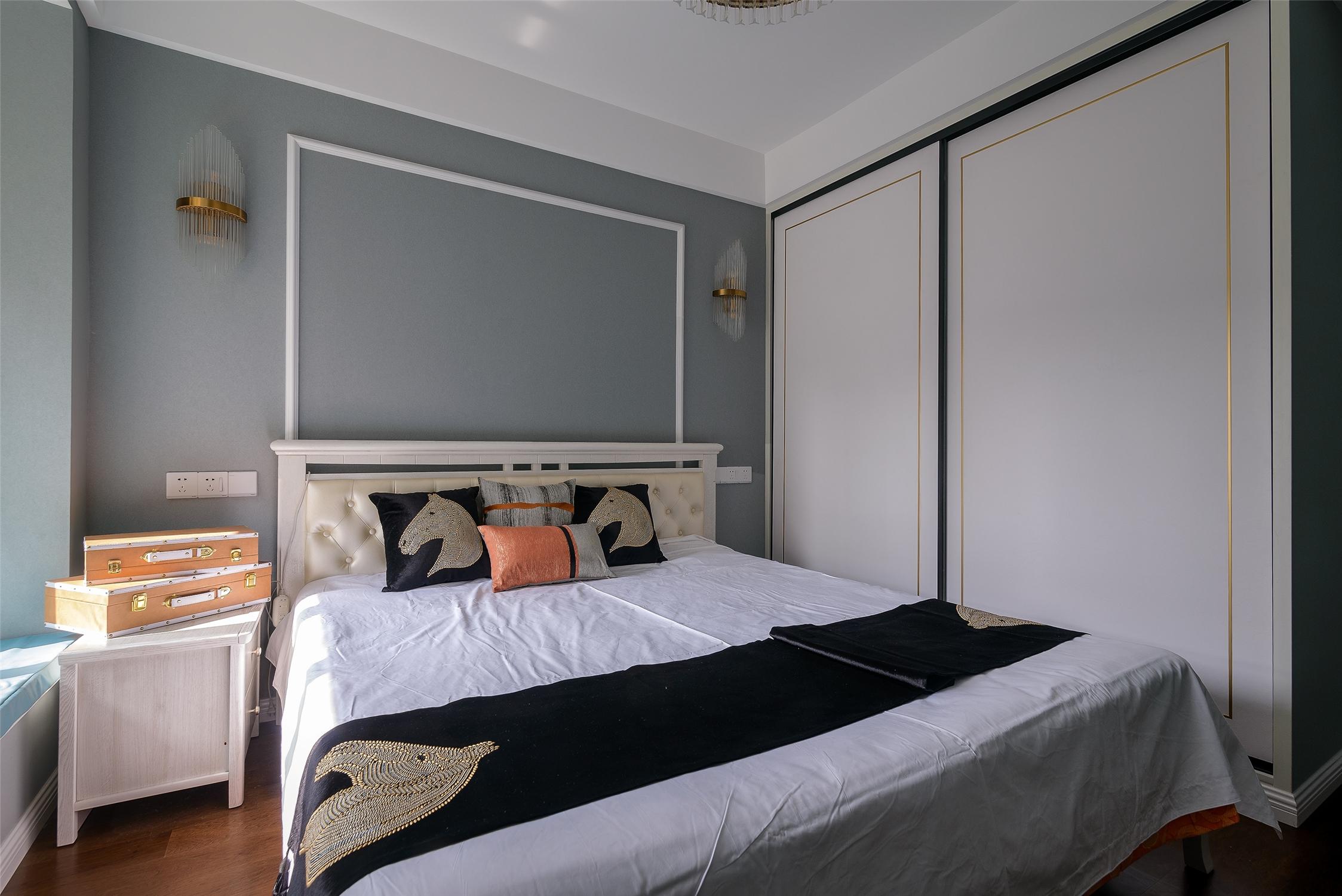 140平米轻奢风卧室装修效果图