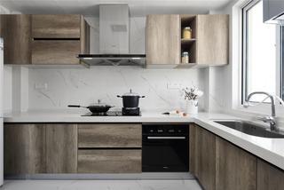 新中式风格四居厨房装修效果图