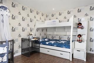 清新简约儿童房装修效果图