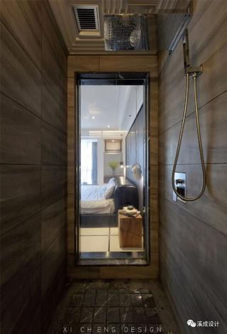 现代简约风格四居淋浴房装修效果图