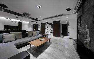 170平现代风客厅装修效果图