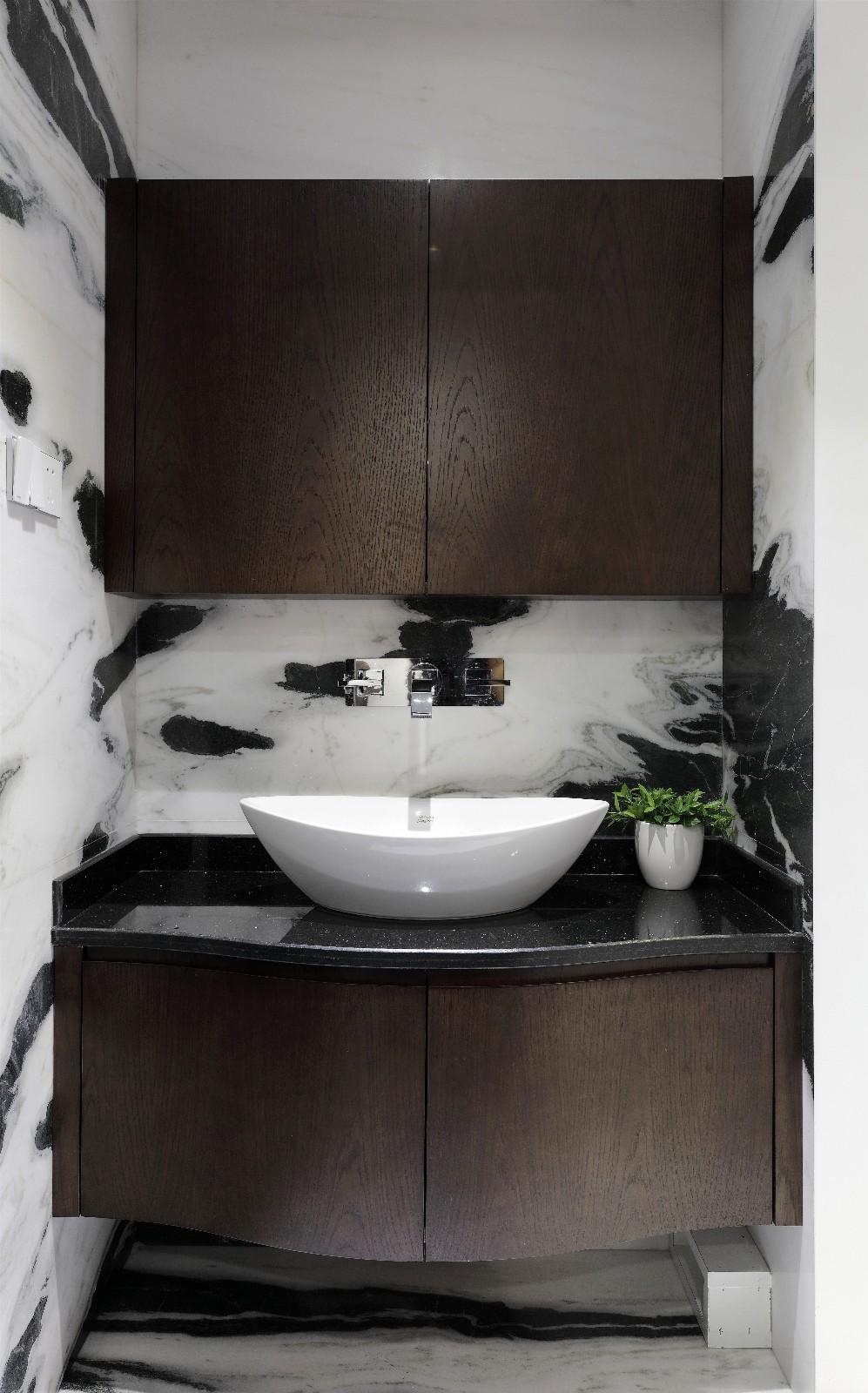 170平现代风装修洗手台设计图