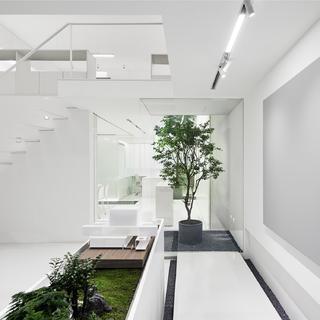 极简风办公空间设计
