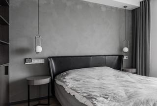 现代简约轻工业风卧室装修效果图