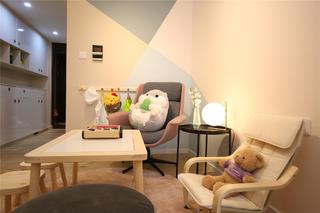 85㎡宜家风格装修儿童活动区设计
