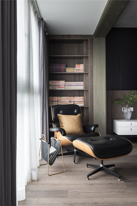 160㎡现代简约风格装修休闲躺椅设计