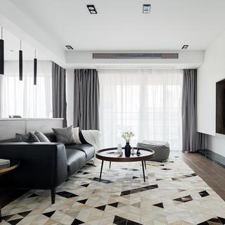 现代简约风格三居室每日首存送20