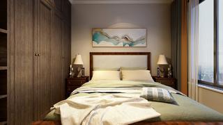 新中式风格卧室每日首存送20