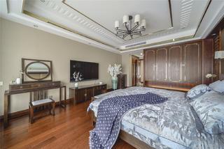 大户型中式风格卧室装修效果图