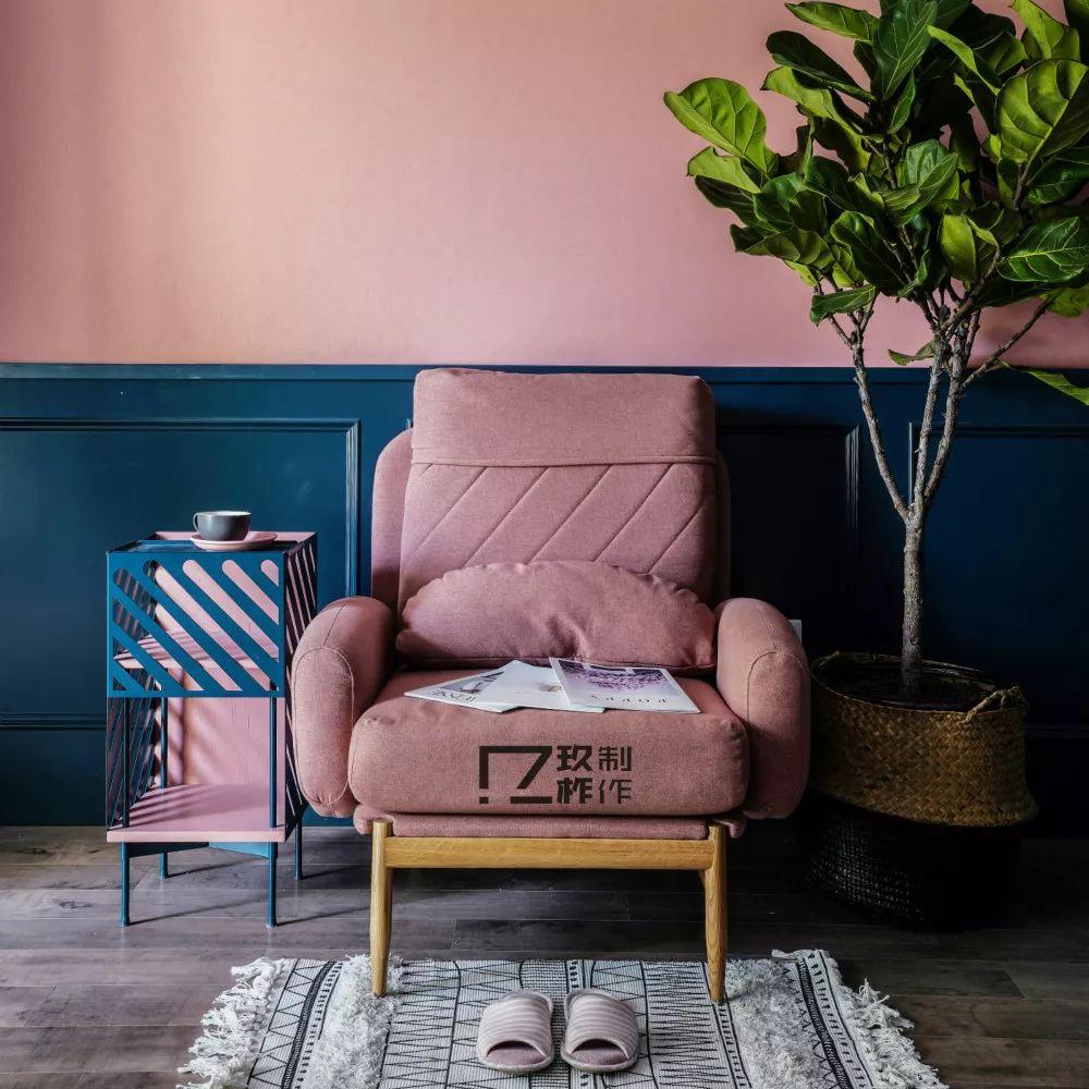 100㎡混搭风格装修沙发椅设计
