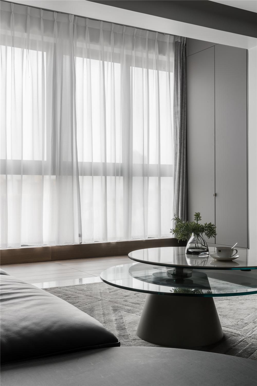 现代简约风格三居装修客厅小景