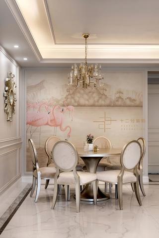 四居室美式风格餐厅装修效果图