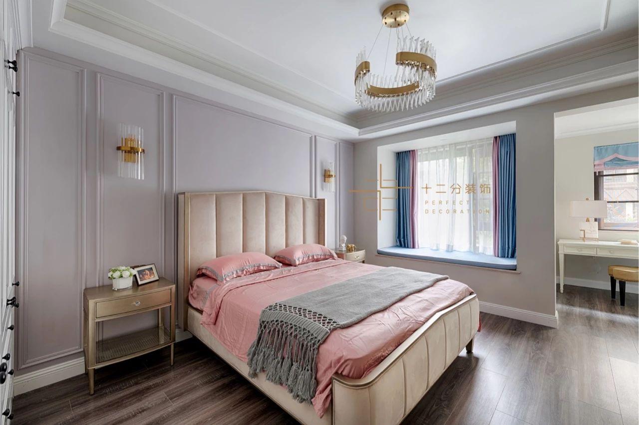 四居室美式风格卧室装修效果图
