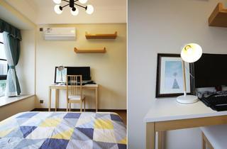 98㎡混搭三居室装修书桌设计