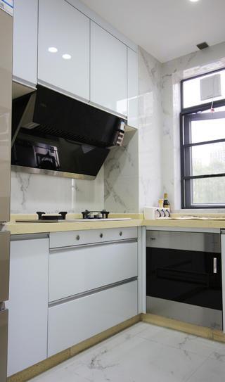 98㎡混搭三居室厨房装修效果图