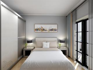 110平米北欧风卧室装修效果图